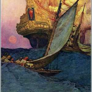 Howard Pyle, Attack on a Galleon, 1905, oil on canvas. Delaware Art Museum, Wilmington, DE.
