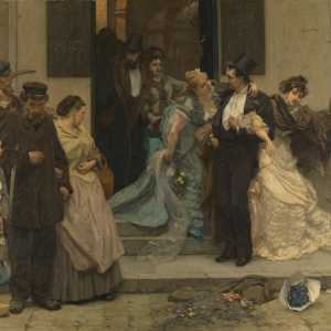 Charles Hermans, A l'aube, 1875