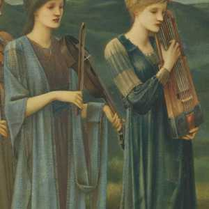 Sir Edward Coley Burne-Jones, Le cortège nuptial de Psyché, 1895