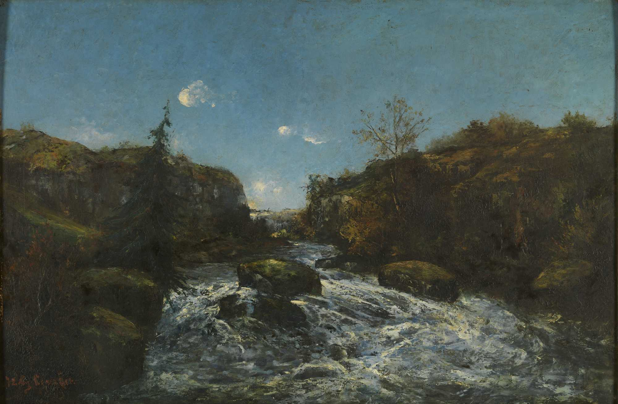 Exhibition gustave courbet and belgium royal museums for Paysage