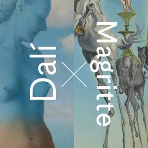 "Dali x Magritte | Details:  René Magritte – ""Black Magic"" (1945) 