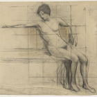 "Alix d'Anethan – ""Seated Woman"" (click to enlarge)"