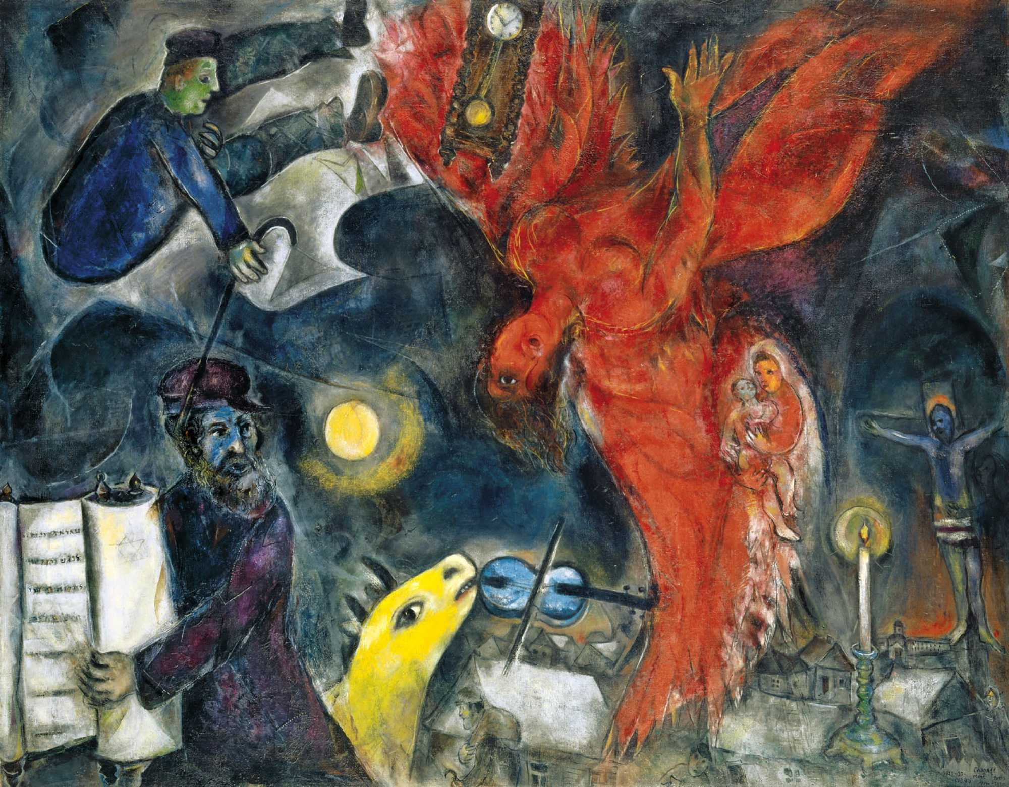 Exhibition « CHAGALL » – Royal Museums of Fine Arts of Belgium Chagall Witte Kruisiging