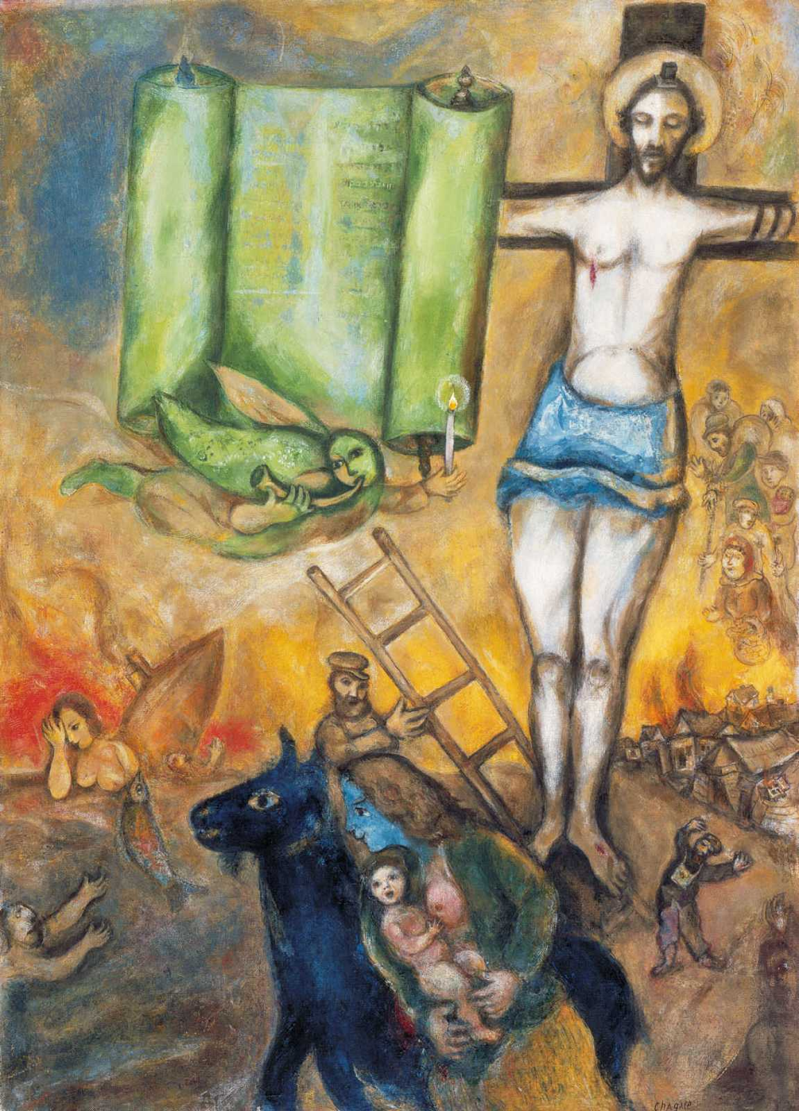 Exhibition « CHAGALL » – Royal Museums of Fine Arts of Belgium Chagall Crucifixion
