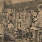 "Paul Renouard – ""Ladies Workshop at the Royal Academy of Arts in London"" (click to enlarge)"