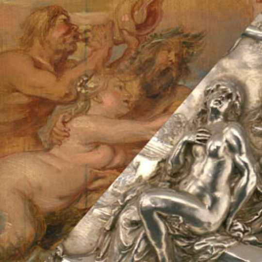 Rubens: unique silverware exhibited