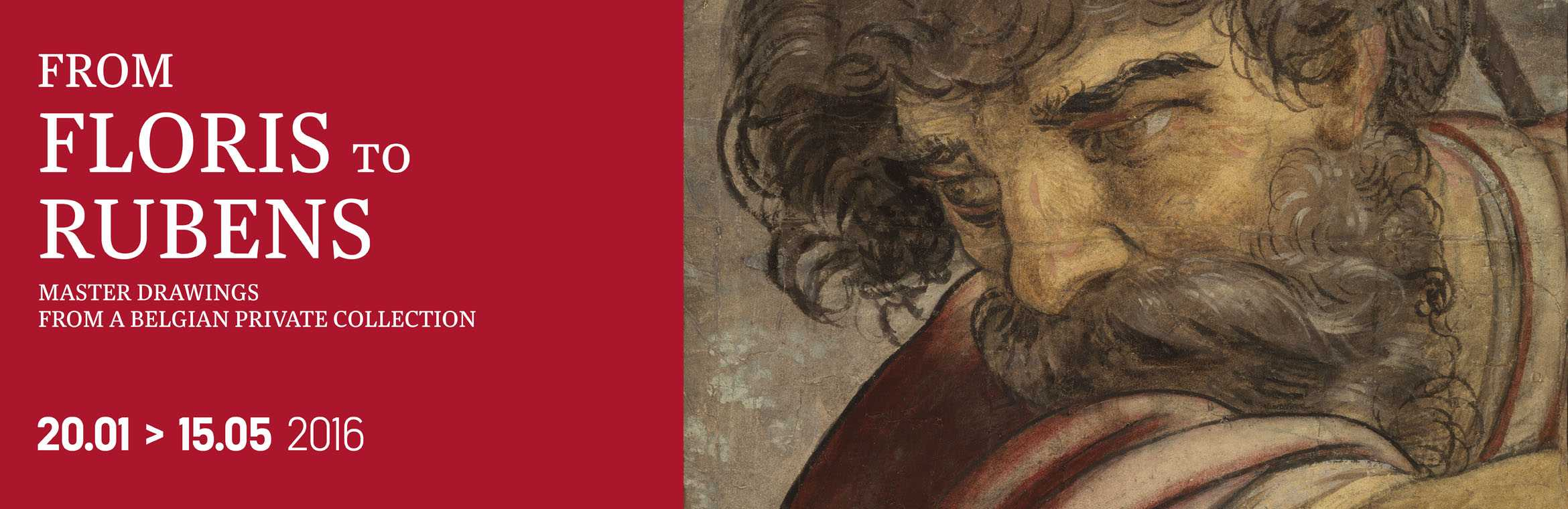 De Floris to Rubens / Master drawings from a Belgian private collection  / 20.01 > 15.05 2016