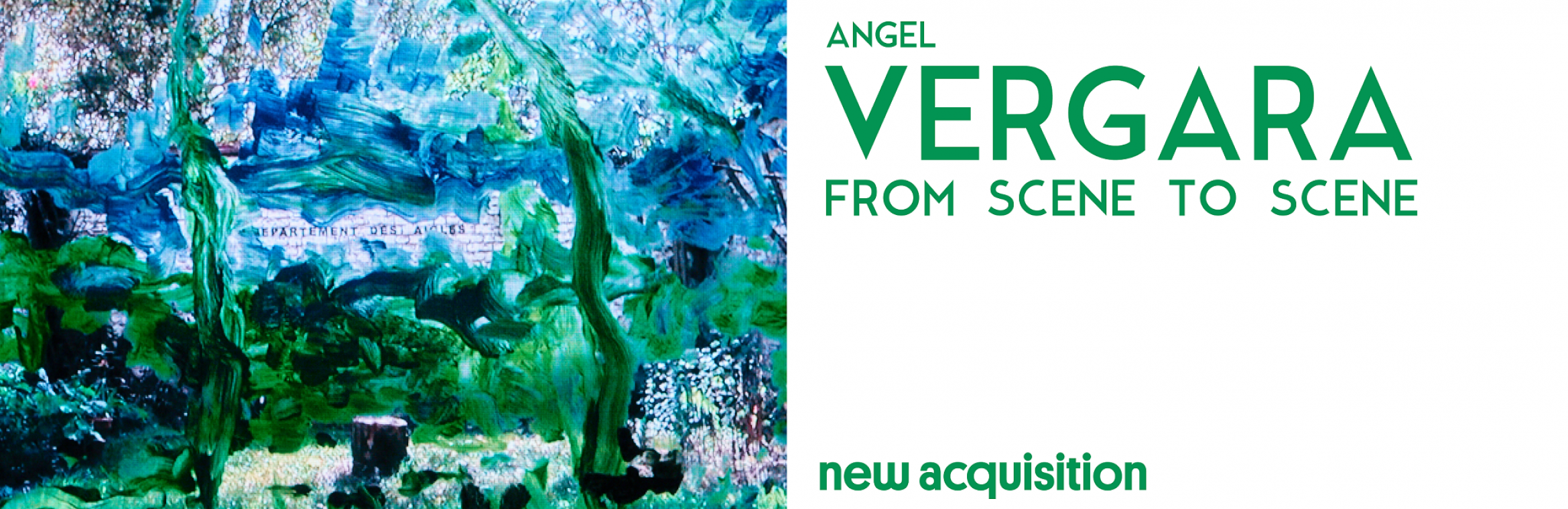 New acquisition: Angel Vergara, From Scene to Scene