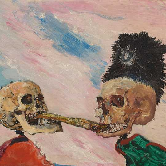 Ensor, Art, violence and society (click to enlarge)