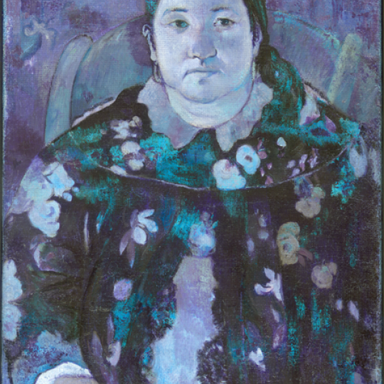 Paul Gauguin, Portret van Suzanne Bambridge (klik om te vergroten)