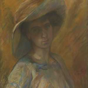 "G. Jamotte, ""Portrait of Paulette Deman"", 1909"