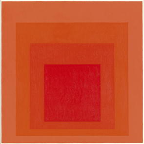Homage to the Square. Signal - Josef Albers