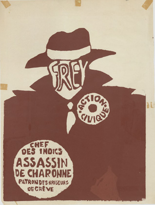 Mai '68 - Anonyme : Frey. Action civique