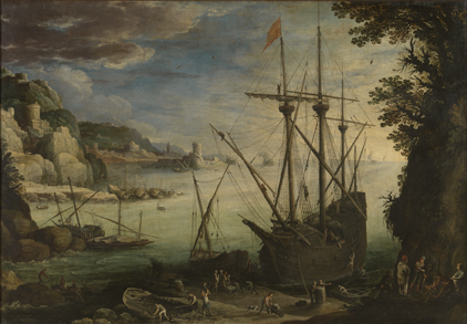 Paul Bril : De haven