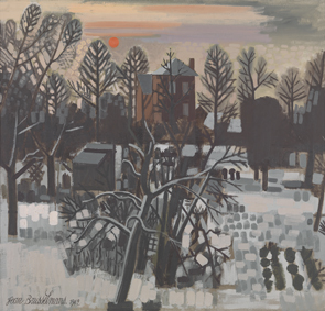 Jean Brusselmans : Winterlandschap