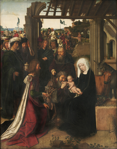 L'adoration des mages - Gerard David