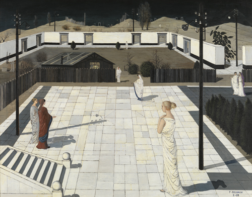 Paul Delvaux : De winter