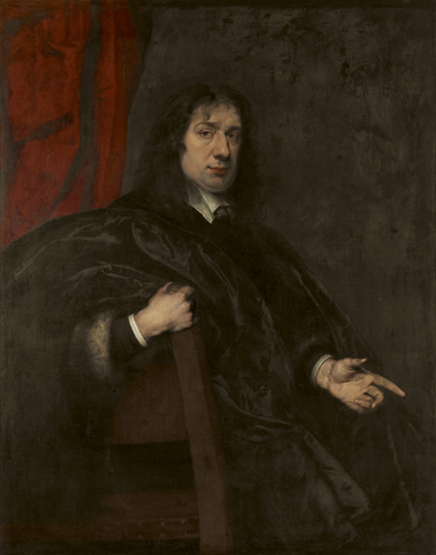 Engelse school : Portret van Edward Sutton vijfde lord Dudley 1567-1643