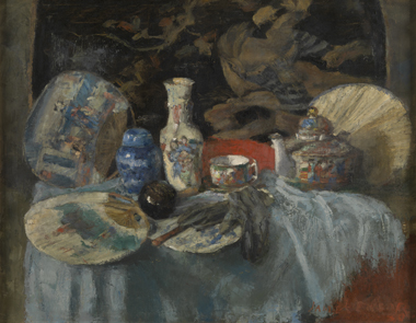 James Ensor : Chinoiseries aux éventails