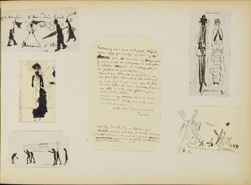 James Ensor : Carnet de dessins