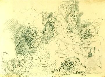 James Ensor : Schets. Monsters en karikaturen