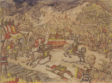 James Ensor : Het steekspel