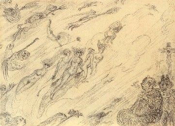 James Ensor : Heksen in de wervelwind