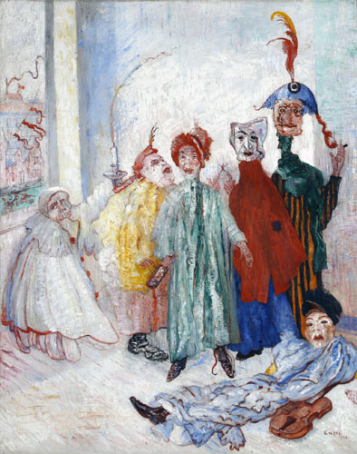 James Ensor : Zonderlinge maskers