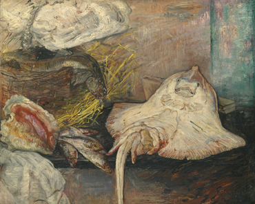 James Ensor : La raie