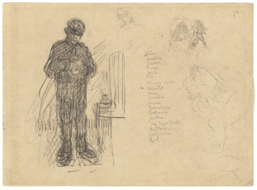 James Ensor : Le lampiste