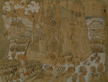 James Ensor : La cathédrale