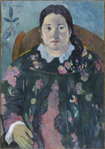 Paul Gauguin : Portrait de Suzanne Bambridge