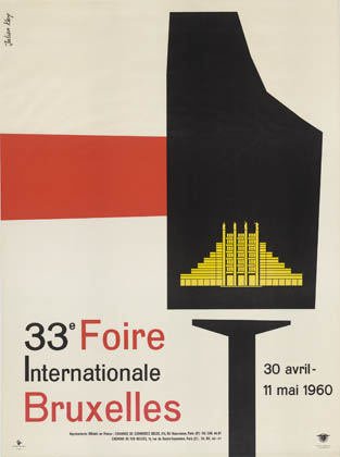 Julian Key (Julien Keymolen) : 33e Foire Internationale Bruxelles (30.04 - 11.05.1960)