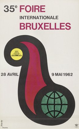 Julian Key (Julien Keymolen) : 35e Foire Internationale Bruxelles (28.04 - 09.05.1962)