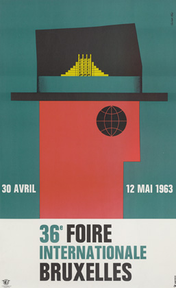 Julian Key (Julien Keymolen) : 36e Foire Internationale Bruxelles (30.04 - 12.05.1963)