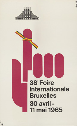 Julian Key (Julien Keymolen) : 38e Foire Internationale Bruxelles (30.04 - 11.05.1965)