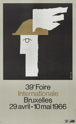 Julian Key (Julien Keymolen) : 39e Foire Internationale Bruxelles (29.04 - 10.05.1966)