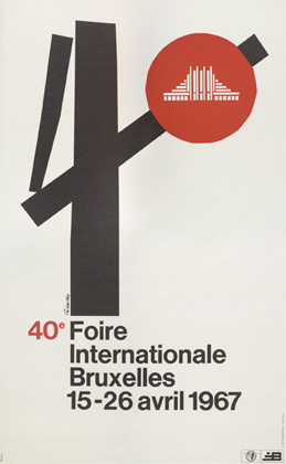 Julian Key (Julien Keymolen) : 40e Foire Internationale Bruxelles (15.04 - 26.04.1976)