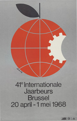 Julian Key (Julien Keymolen) : 41ste Internationale Jaarbeurs Brussel (20.04 - 01.05.1968)