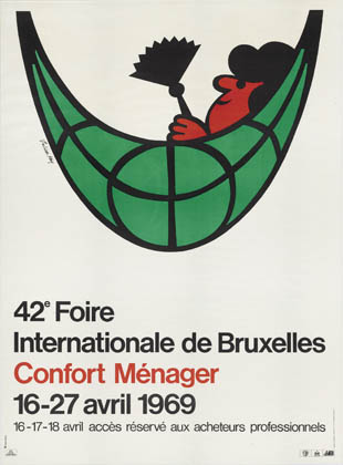 Julian Key (Julien Keymolen) : 42e Foire Internationale de Bruxelles. Confort Ménager (06.04 - 27.04.1969)