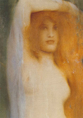 Fernand Khnopff : Acrasia. The Faerie Queen