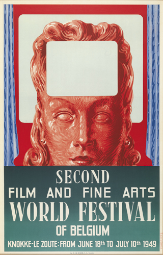 René Magritte : Second film and fine arts world festival of Belgium (Knokke-le-Zoute, 18.06 - 10.07.1949)