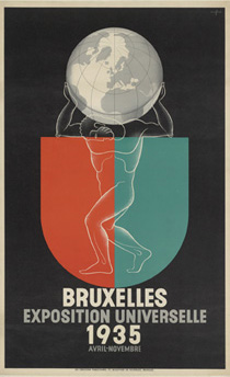 Leo Marfurt : Bruxelles. Exposition Universelle 1935 (Avril-Novembre)