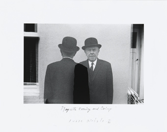 Duane Michals : Magritte Coming and Going