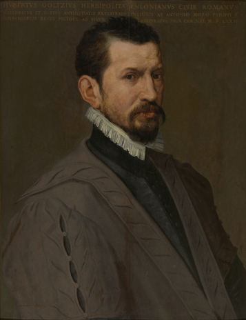 Portrait d'Hubert Goltzius 1526-1583 - Anthonis Mor van Dashorst