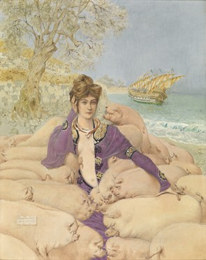 Gustav Adolf Mossa : Circe
