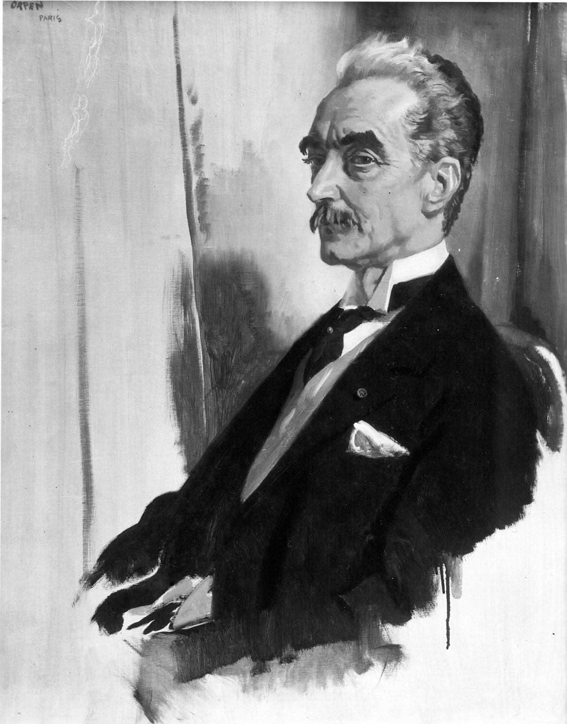 William Orpen : Portret van mijnheer Paul Hymans