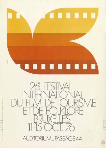 André Pasture : 26e Festival International du film de tourisme et de folklore (Bruxelles, 11.10 - 15.10.1976)
