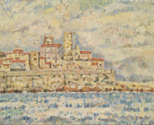Armand Permantier : Les remparts d'Antibes