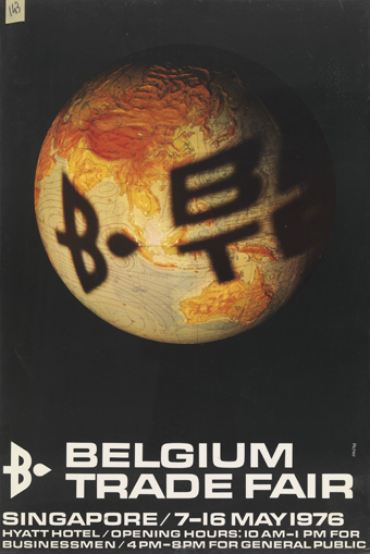 Jacques Richez : Belgium Trade Fair (Singapore, Hyatt Hotel, 07.05 - 16.05.1976)